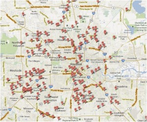 HouChron Murder Map