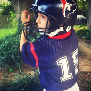 James choice for Halloween this year Houston Texans WR nohellip